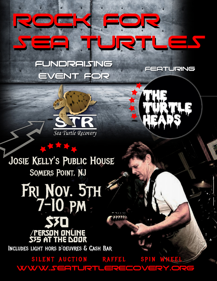 rock for sea turtles rock concert fundraiser nj